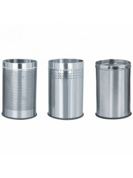 """Dust Bin S.S Perforated 10""""x24"""""""