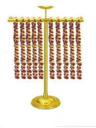 "Garland Stand - Brass   36""Ht. x 36""W"