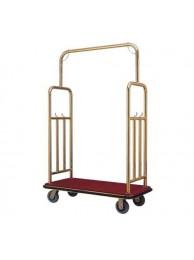 Luggage Lobby Trolley Brass