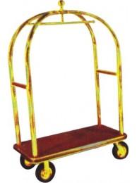 "Luggage Trolley Brass Maharaja (24""x24"")"