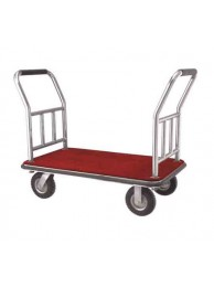 "Platform Trolley with two Side Sport S.S 24"" x 36"" x 24"""
