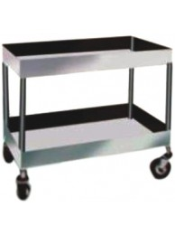 "Two Portion Trolley S.S 18""x32""x3"" Border"
