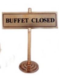 """Buffet stands   4"""" x 3""""    x 7"""""""