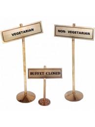 """Buffet stands 4"""" Dia"""