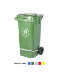 Conta Kleen Waste Bin 120 Ltrs. With Pedal Imported