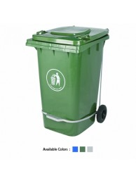 Conta Kleen Waste Bin 240 Ltrs. With Pedal Imported
