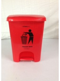 Conta Kleen Pedal Dust Bin 25LTR (Imp.) – RED