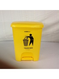 Conta Kleen Pedal Dust Bin 25LTR (Imp.) – YELLOW