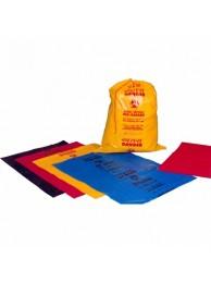 "Garbage bags with Bio-Hazard logo Jumbo (36"" x 44"")"