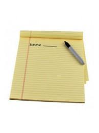 "Scribbling Pad(5"" X8.5""approx)(20 sheet)"