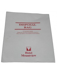 Disposable Bag White