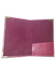 Bill Folder (Leatherite)