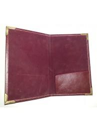Bill Folder (Leather)