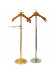 "Coat Hanger Stand - Brass 42"" Ht."