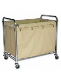 Laundry Trolley Rectangular 92 x 56 x 89 cm S.S.
