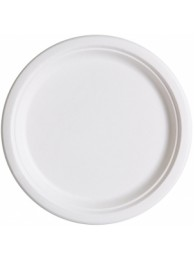 "Eco-Ware paper Plate (7 no = 6"") (100 Pcs)"