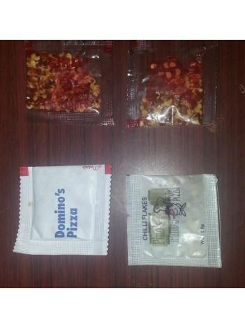 Chili Flakes Sachet 1 gm ( 1 case = 5000)