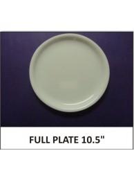 "Acrylic Full Plate 10.5"""