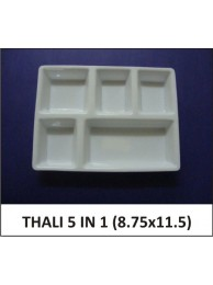 Acrylic Thali 5 in 1