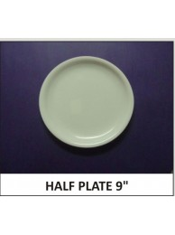 "Arcylic Half Plate 9"""
