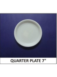 Acrylic Quater Plate 7""