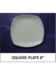 Acrylic quater plate (square) 8""